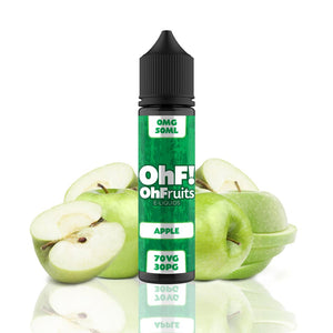 OhFruits Apple 50ml Shortfill