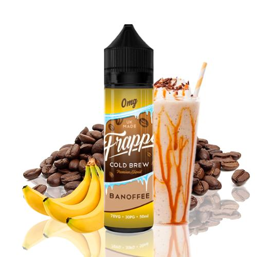 Frappe Cold Brew Banoffee Coffee Shortfill 50ml