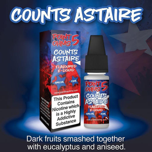 Point Five Ohms - Counts Astire - 10ml