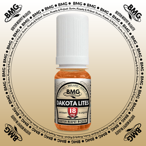 BMG eJuice, tobacco flavoured with 18mg nicotine.