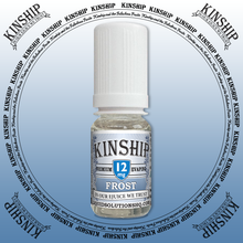 Kinship eJuice, frost flavoured with 12mg nicotine.