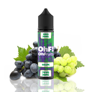 OhFruits Grape 50ml Shortfill