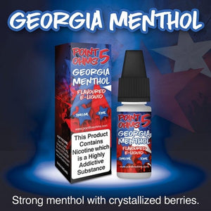 Point Five Ohms - Georgia Menthol- 10ml- 50/50