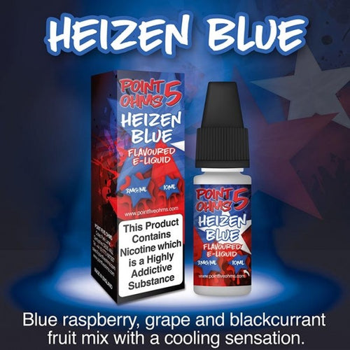 Point Five Ohms - Heizen Blue- 10ml- 50/50