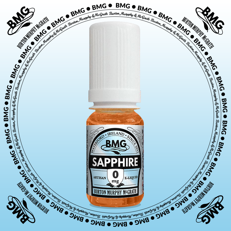 BMG eJuice, tobacco flavoured with 0mg nicotine