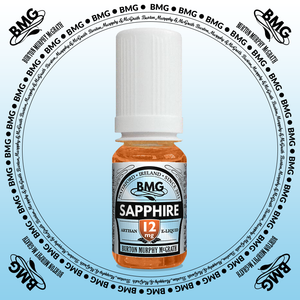 BMG eJuice, tobacco flavoured with 12mg nicotine