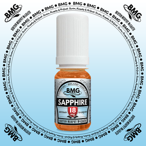 BMG eJuice, tobacco flavoured with 18mg nicotine