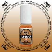 BMG eJuice, tobacco flavoured with 12mg nicotine.