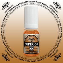 BMG eJuice, tobacco flavoured with 20mg nicotine.