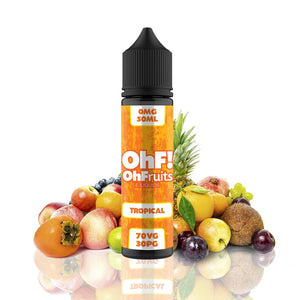 OhFruits Tropical 50ml Shortfill