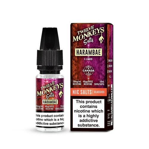 Harambae - Twelve Monkeys - 10ml