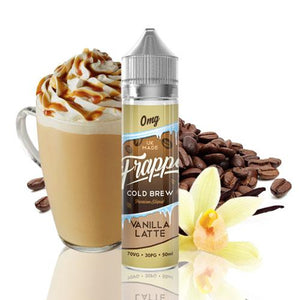 Frappe Cold Brew Vanilla Latte Shortfill 50ml