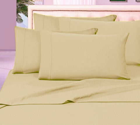 Egyptian Cotton Sheet Set 1000 Thread Count - Taupe