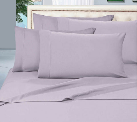 Egyptian Cotton Sheet Set 1000 Thread Count - Silver
