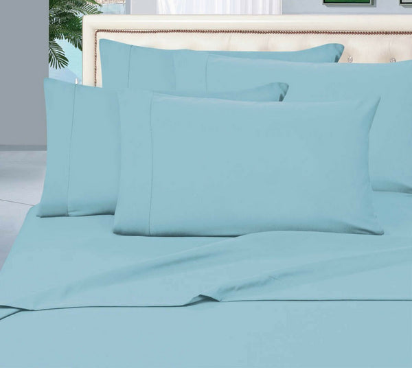 Egyptian Cotton Sheet Set 1000 Thread Count - Turquoise