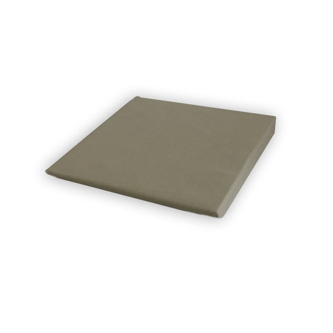 Cotton Fitted Sheet 100% Pure Cotton - Grey