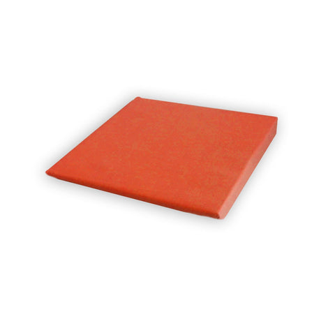 Cotton Fitted Sheet 100% Pure Cotton - Orange