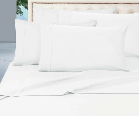 Egyptian Cotton Combo Set 1000 Thread Count - White