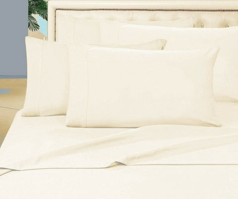 Egyptian Cotton Combo Set 1000 Thread Count - Ivory