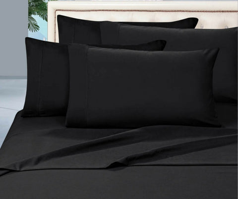 Egyptian Cotton Combo Set 1000 Thread Count - Black