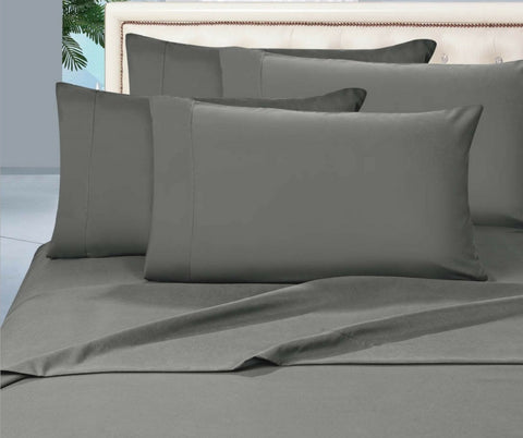 Egyptian Cotton Combo Set 1000 Thread Count - Pewter-Dark Grey