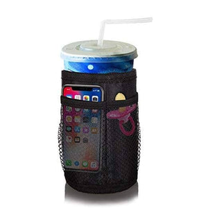 Thermal Insulated Cup Holder with Mesh Pockets - HPZ Pet Rover USA
