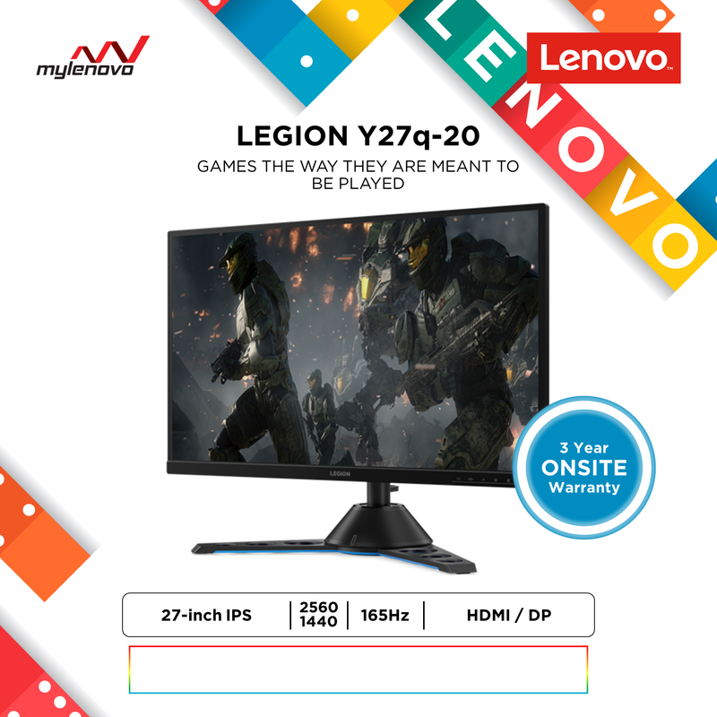 Legion Y27q-20 27-inch WLED Gaming Monitor