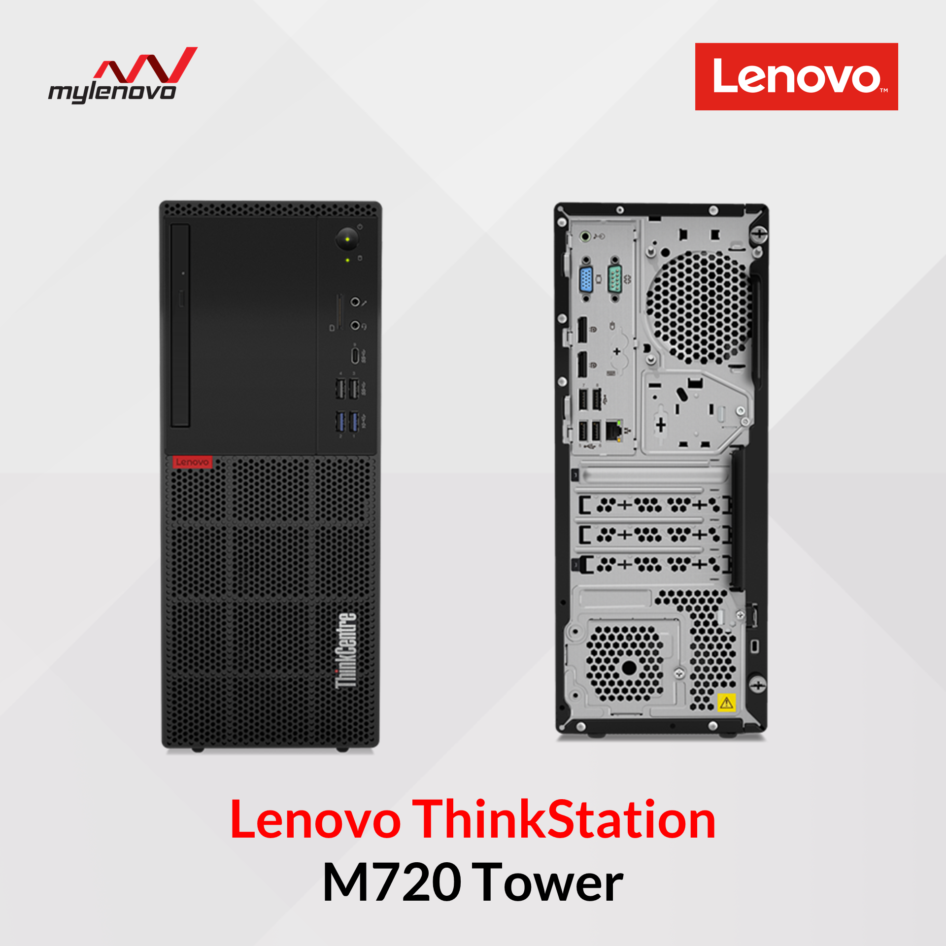 Lenovo ThinkCentre M720 Tower (i5, Office Home&Business 2019)
