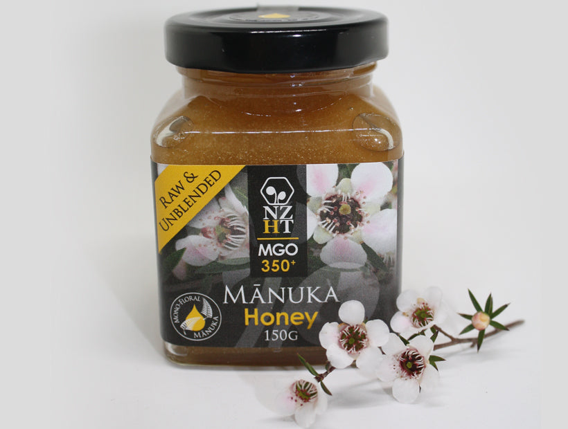 Mono-floral Mānuka Honey MGO350+ (150G & 350G)