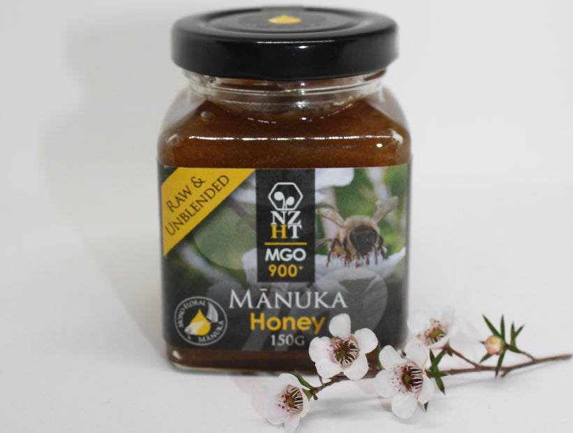 Mono-floral Mānuka Honey MGO900+ (150G)
