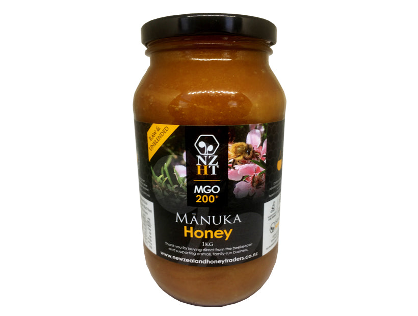 Mono-floral Mānuka Honey MGO200+ (1KG)