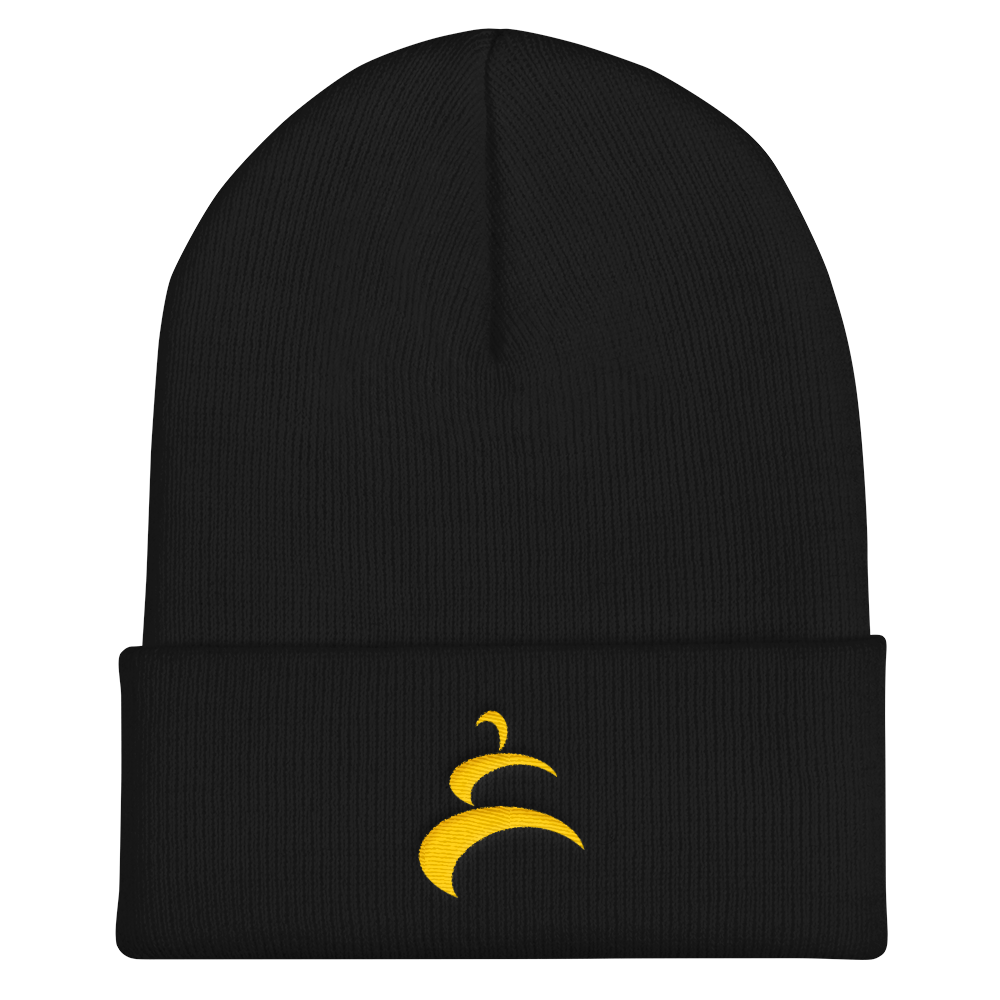 Limited Edition ECMA Black Belt Beanie