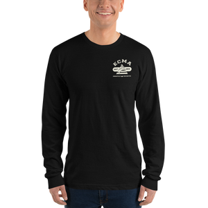 WORK HARD ECMA Long sleeve t-shirt (unisex)