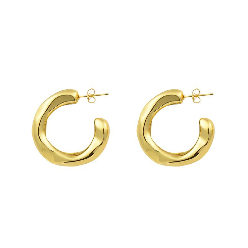 SHOP - Brie Leon - Veeda Stud Hoops - Gold