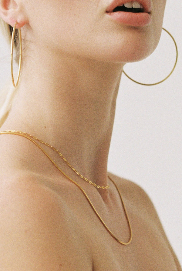 SHOP - FLASH JEWELLERY - placebo chain necklace - 18k vermeil