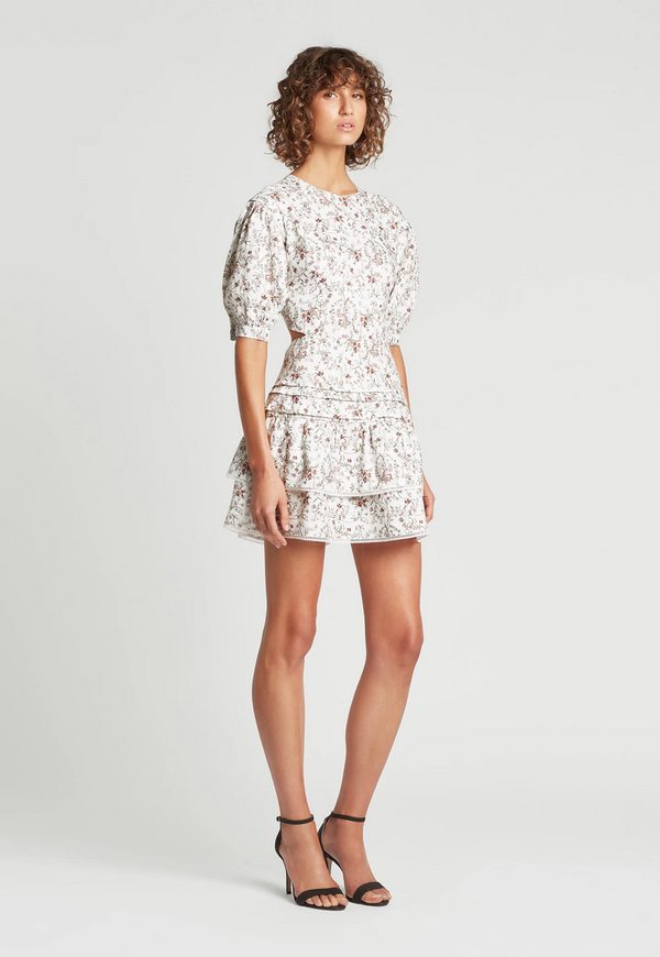 sir the label haisley mini dress - haisley floral print