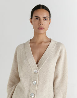 SHOP - MARLE - sawyer cardi - shell
