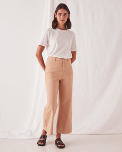 Tala Canvas Pant - Taupe