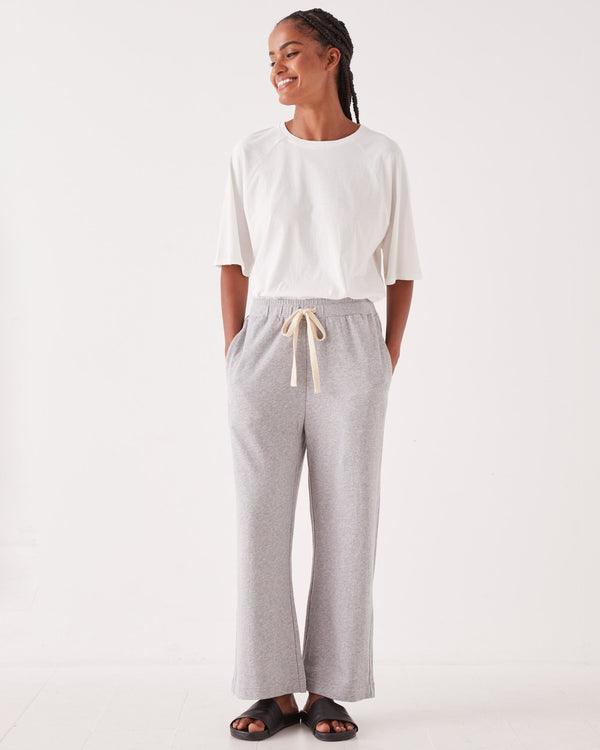 SHOP - ASSEMBLY LABEL - Lahni Wide Leg Pant - Grey Marle
