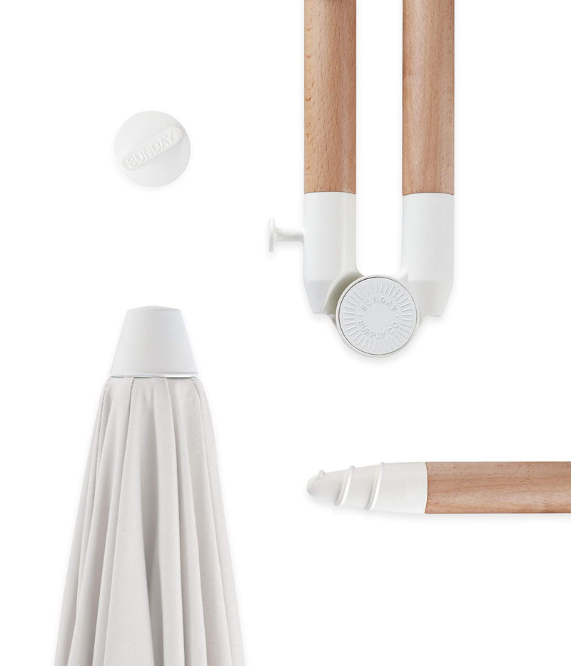 Sunday Supply Co - natural instincts beach umbrella