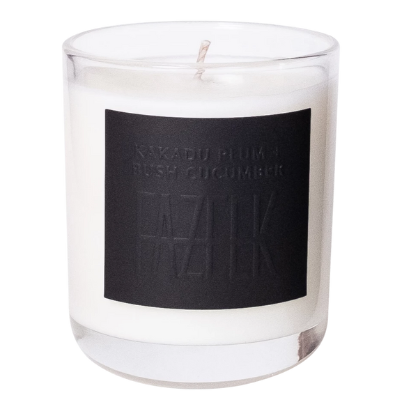 SHOP - Fazeek - Glass Candle - Kakadu Plum + Bush Cucumber