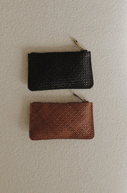 Louis Zip Pouch - Antique Tan
