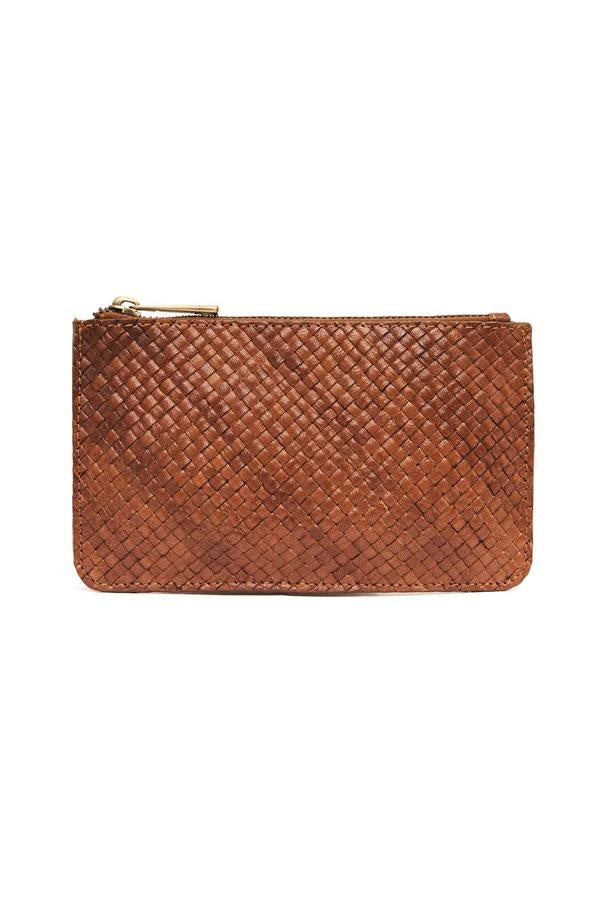 SHOP - St. Agni - Louis Zip Pouch - Antique Tan