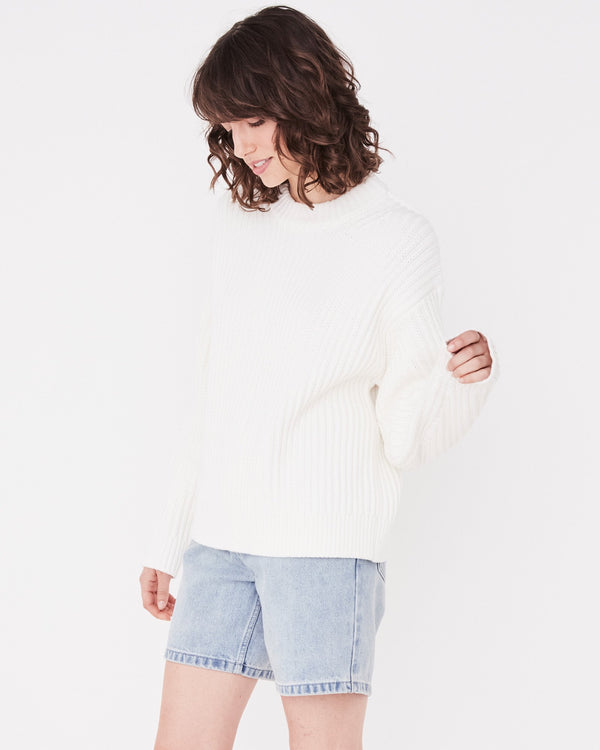SHOP - ASSEMBLY LABEL - myla knit - vintage white