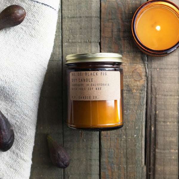 p.f. candle co - black fig