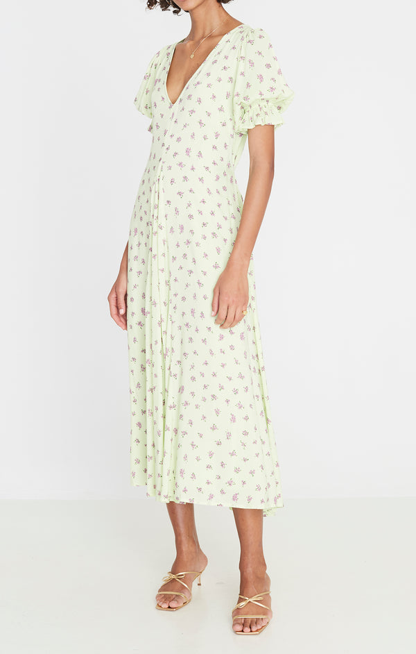 SHOP - faithfull - maggie midi dress - luda floral print