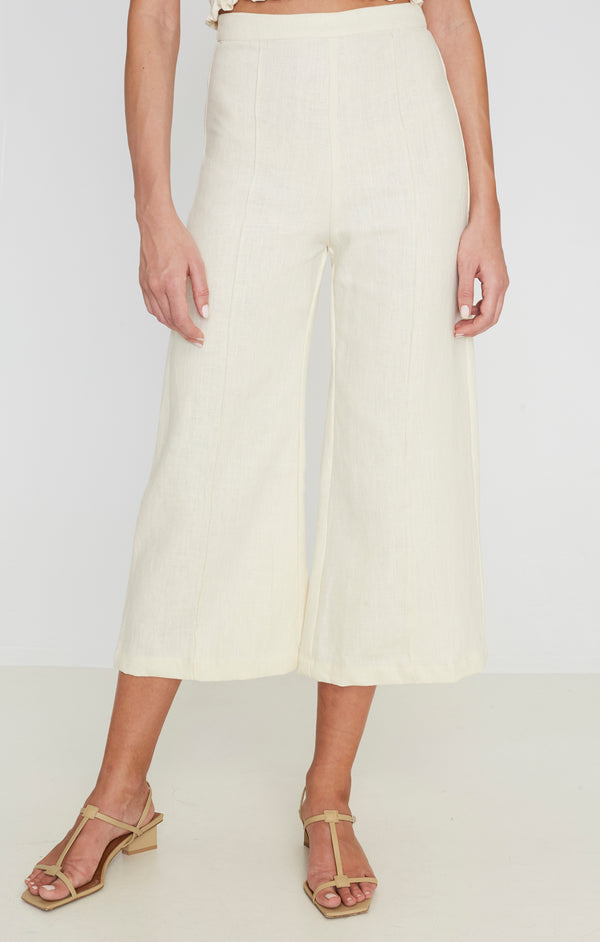 SHOP - FAITHFULL - dasha pants - plain creme