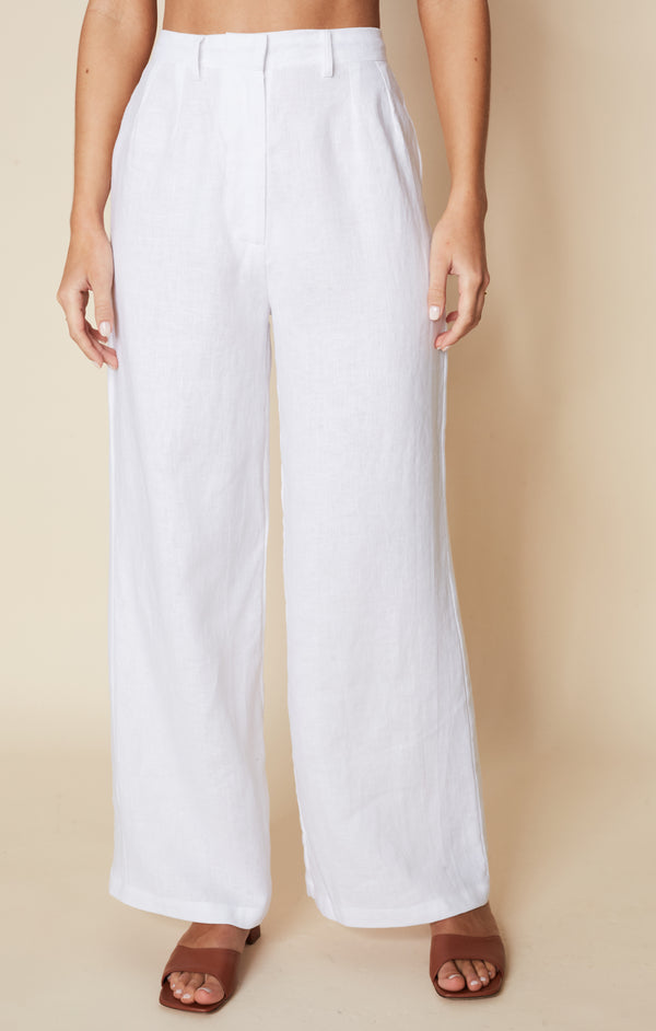 SHOP - FAITHFULL - Musa Pants - Plain White