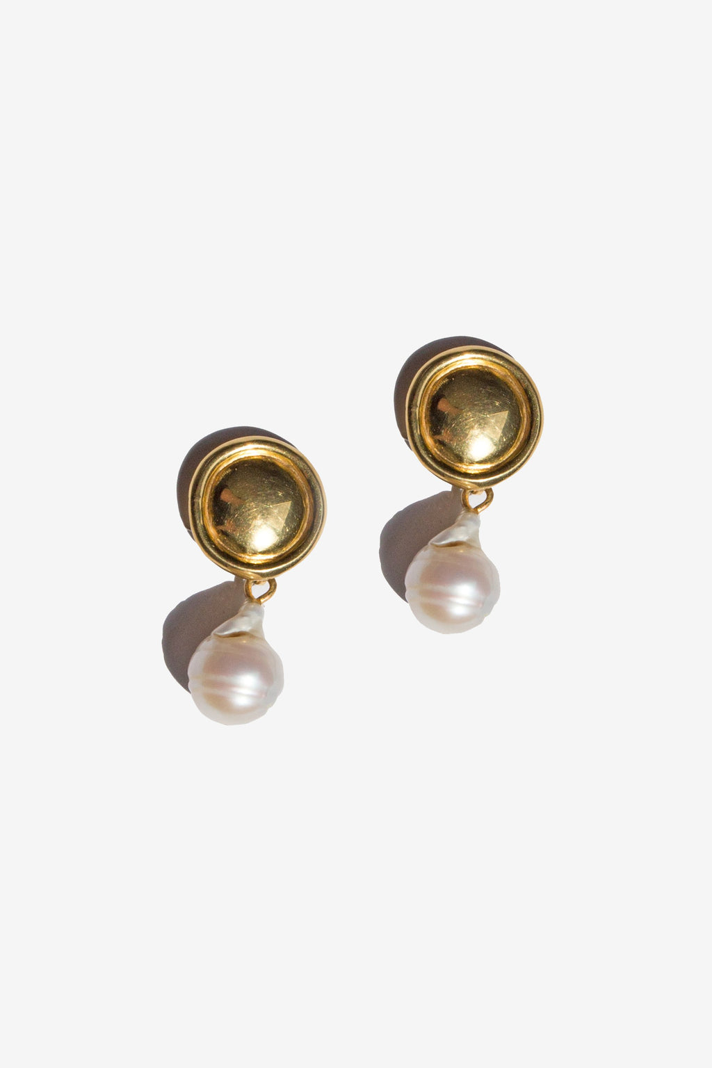flash - eva earrings - gold