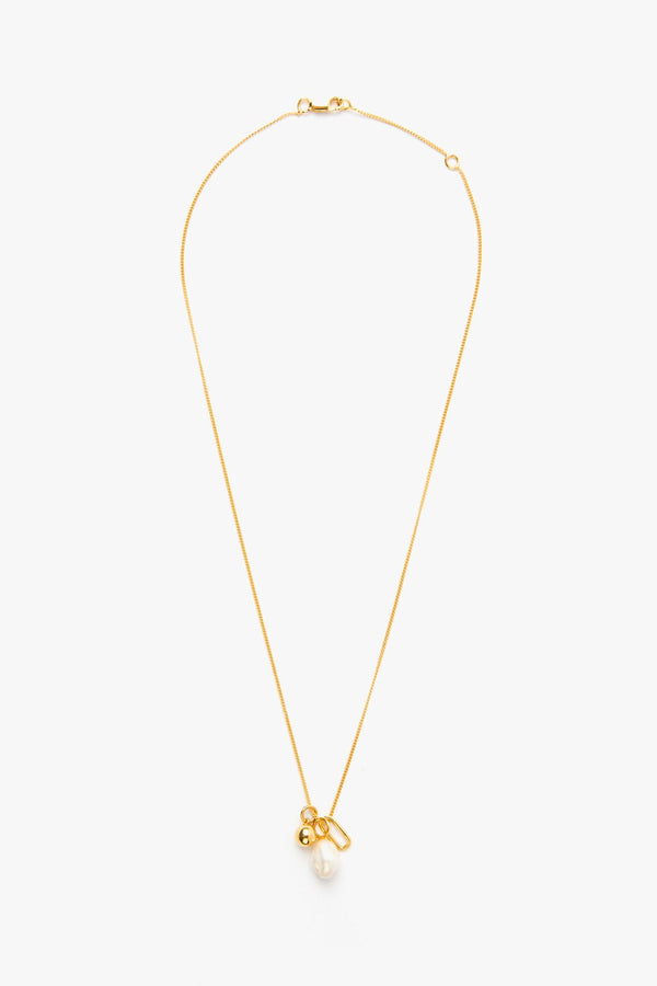 SHOP - FLASH - vacation charm necklace - 14k vermeil